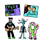 Fred by Mitch Friedman (booklet art)